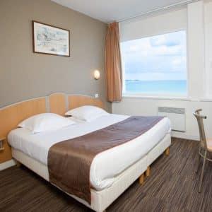 Une nuit vue sur mer à l'Hôtel Le Jersey*** (2 personnes)