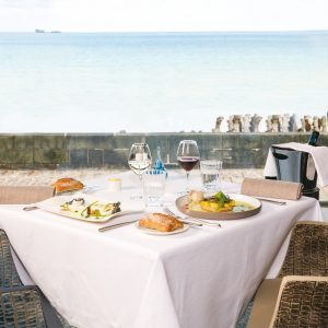 "Restaurant Les 7 Mers : Menu ""Déjeuner"" (2 personnes)"