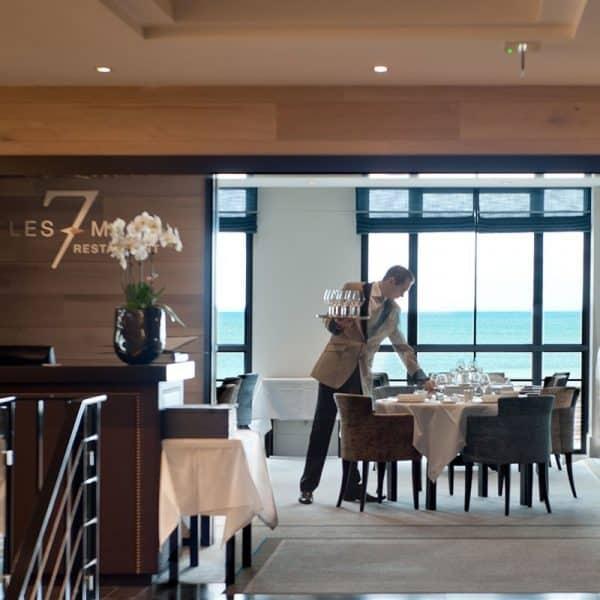 """Restaurant Les 7 Mers : Menu """"Grand Large"""" et coupe de champagne (2 personnes) 1"""