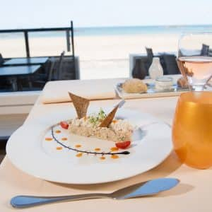 "Restaurant de l'Antinéa : Menu ""Bord de mer"" boissons incluses (2 personnes)"