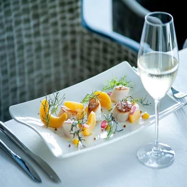 """Restaurant Les 7 Mers : Menu """"Grand Large"""" et coupe de champagne (2 personnes) 3"""